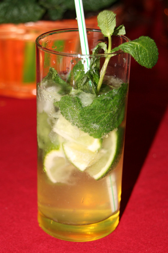 Cocktail Mojito royal