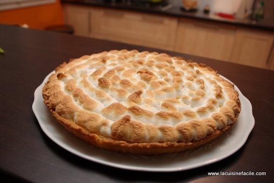 Tarte au citron meringu e la fa on du p tissier - Tarte au citron meringuee herve cuisine ...