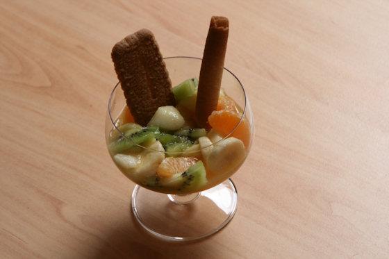 Salade de fruits frais d'hiver