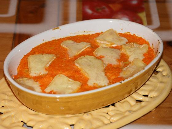 Tartiflette légère à la carotte