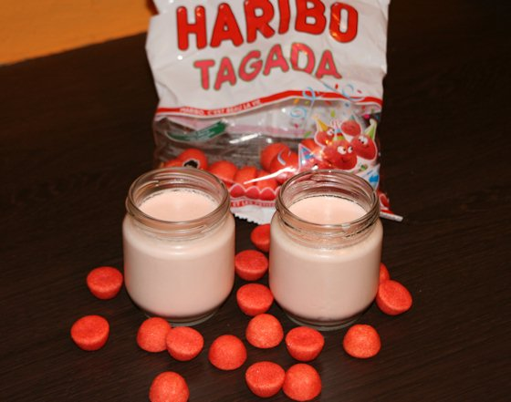 Yaourt maison aux fraises tagada