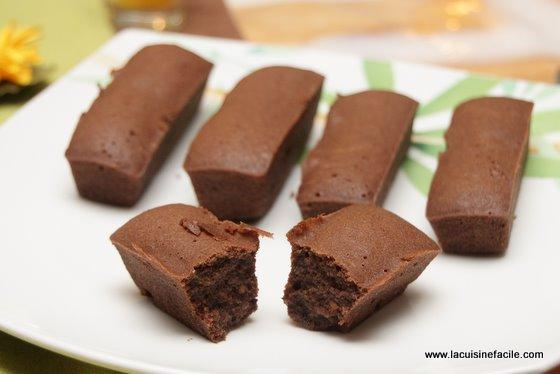 Mini friand au chocolat