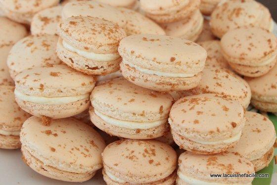 macarons 224 la vanille et 233 clats de sp 233 culoos lacuisinefacile