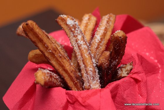 Churros maison sans machine