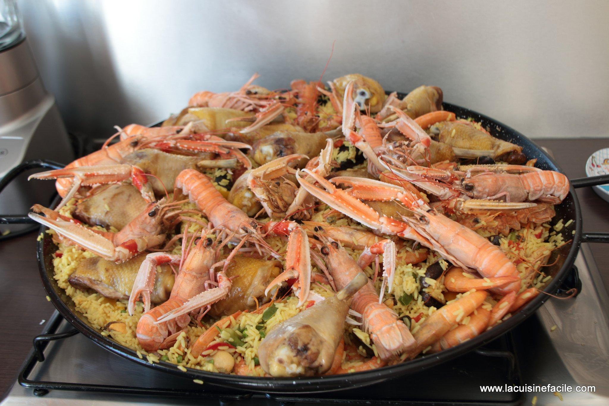 Paella royale