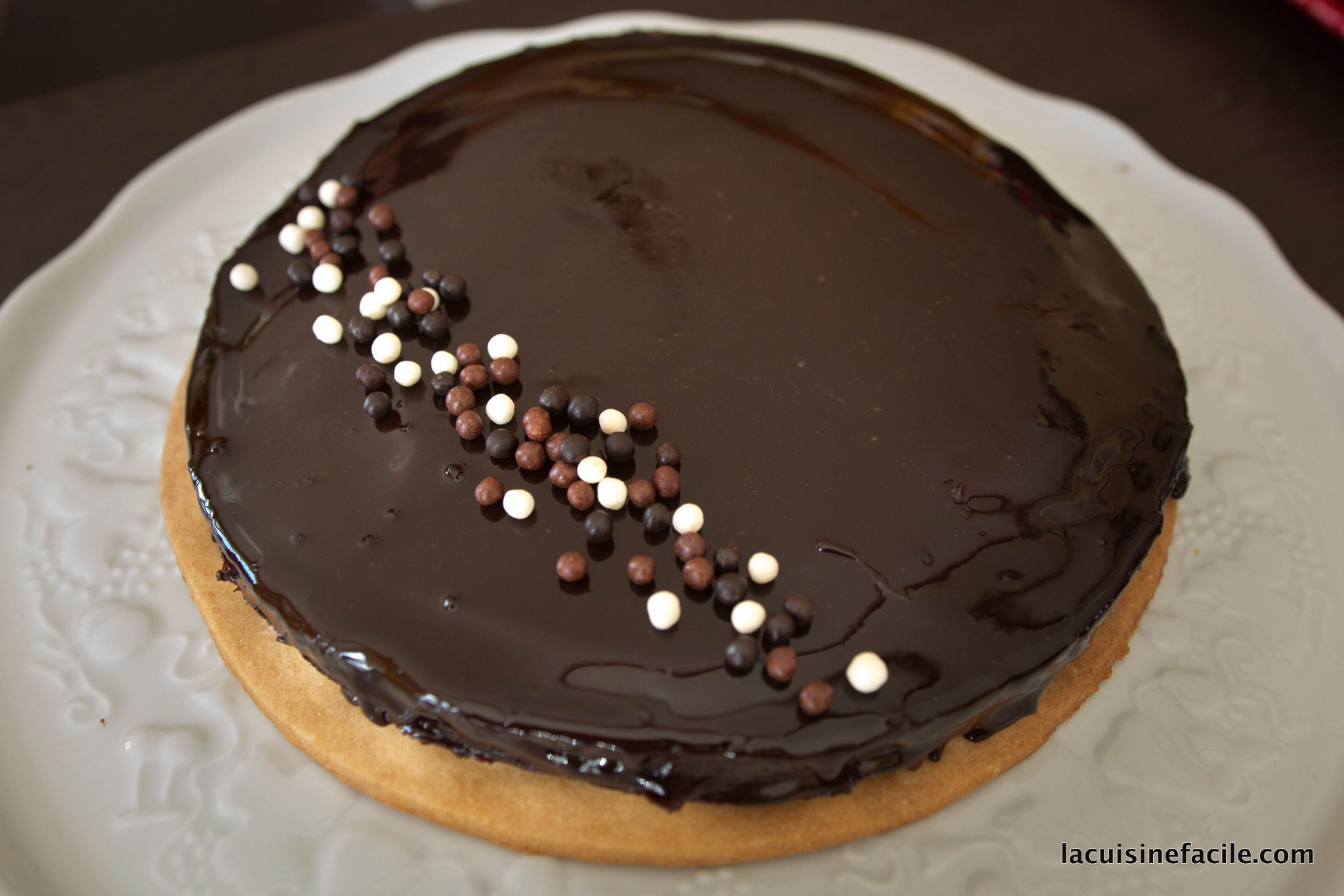 Tarte au chocolat d'Arnaud Larher